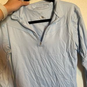 Baby blue Nike pullover- size L
